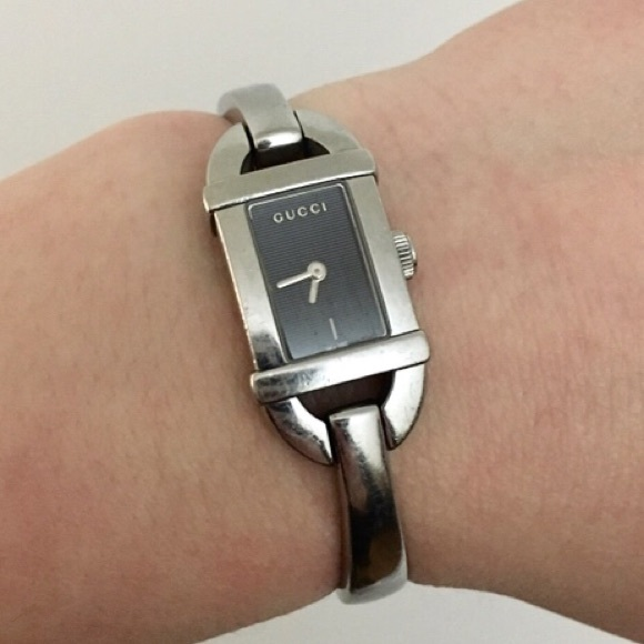 6eb445d6d0d Gucci Accessories - Gucci 6800L Stainless Steel Watch
